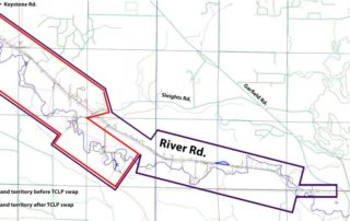 map of river road