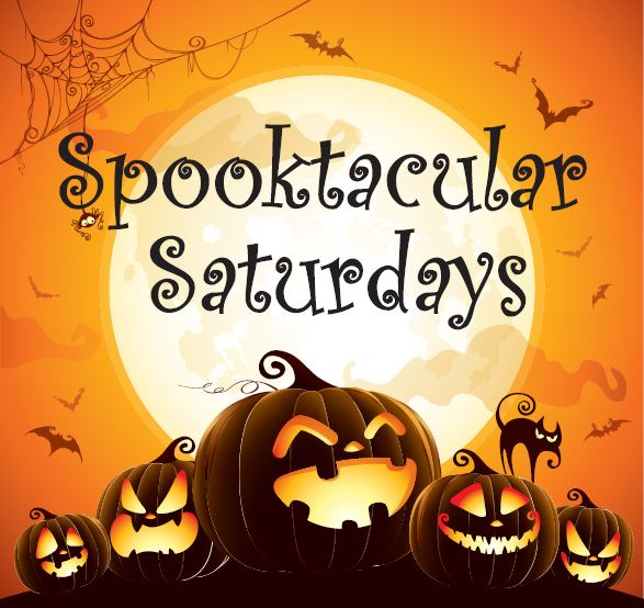 Spooktacular Saturdays logo