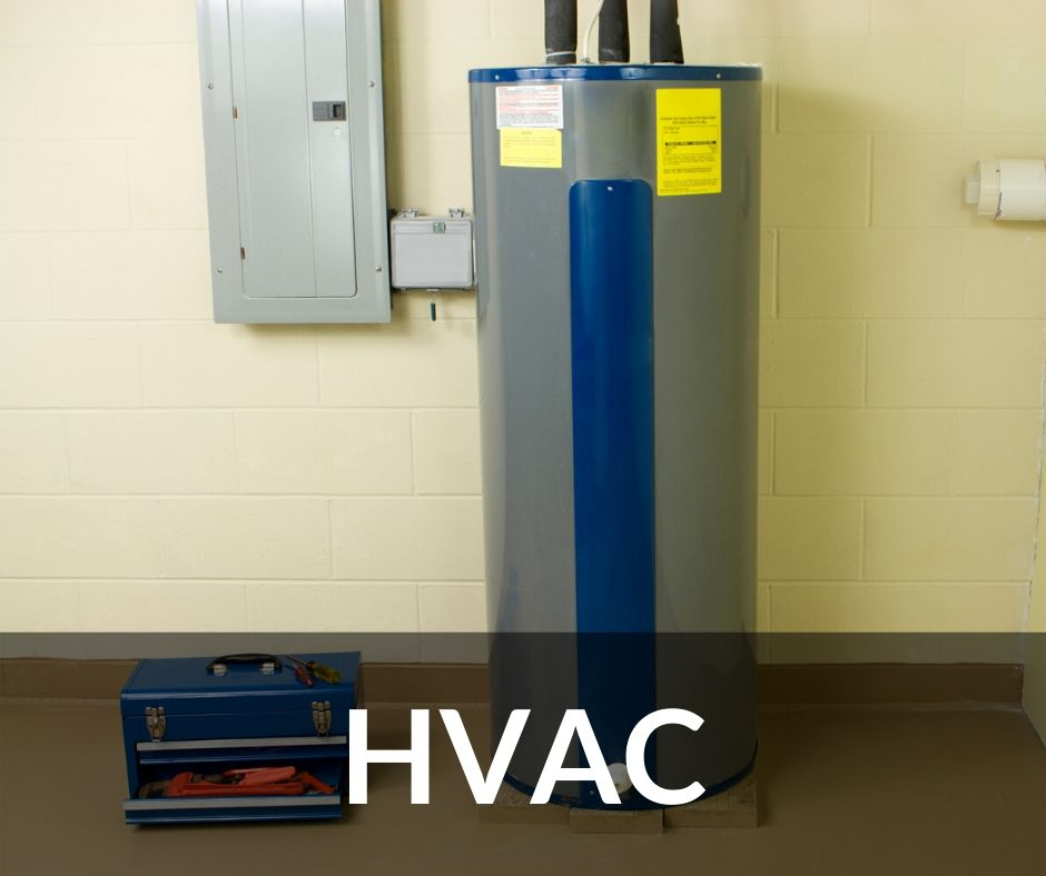 HVAC system and toolbox